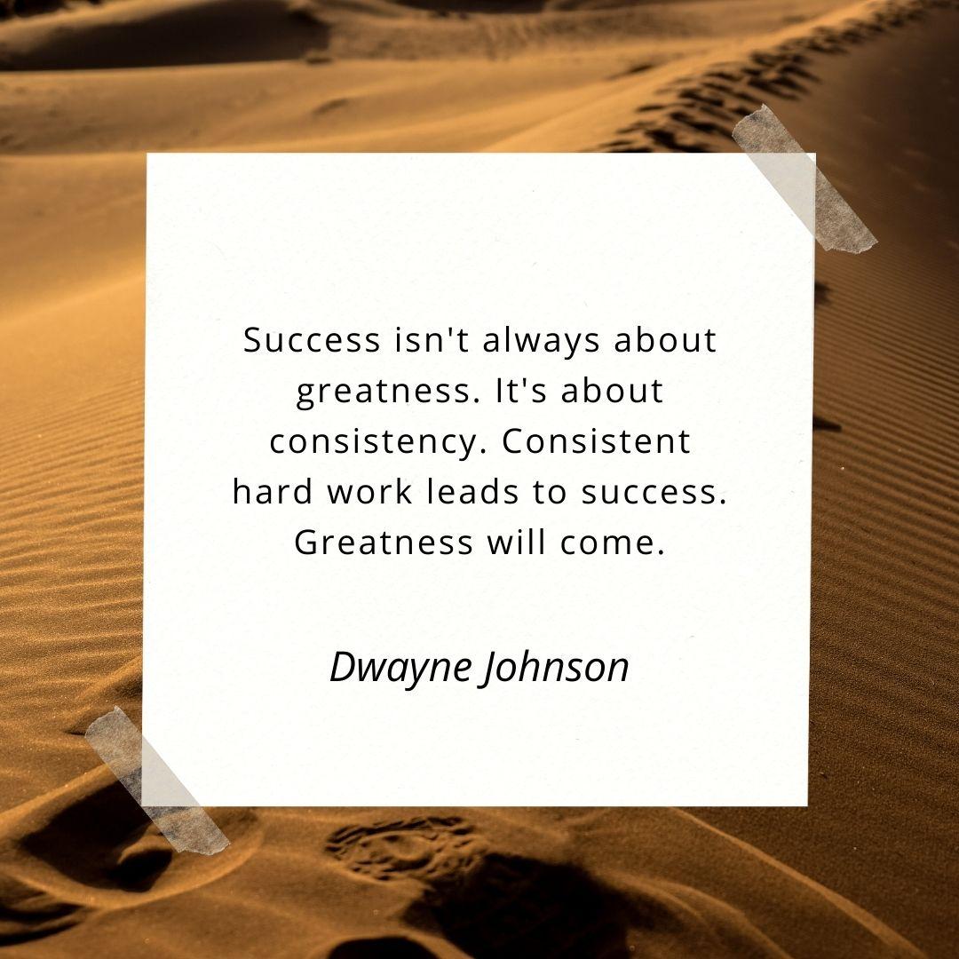 Confidence building success quote